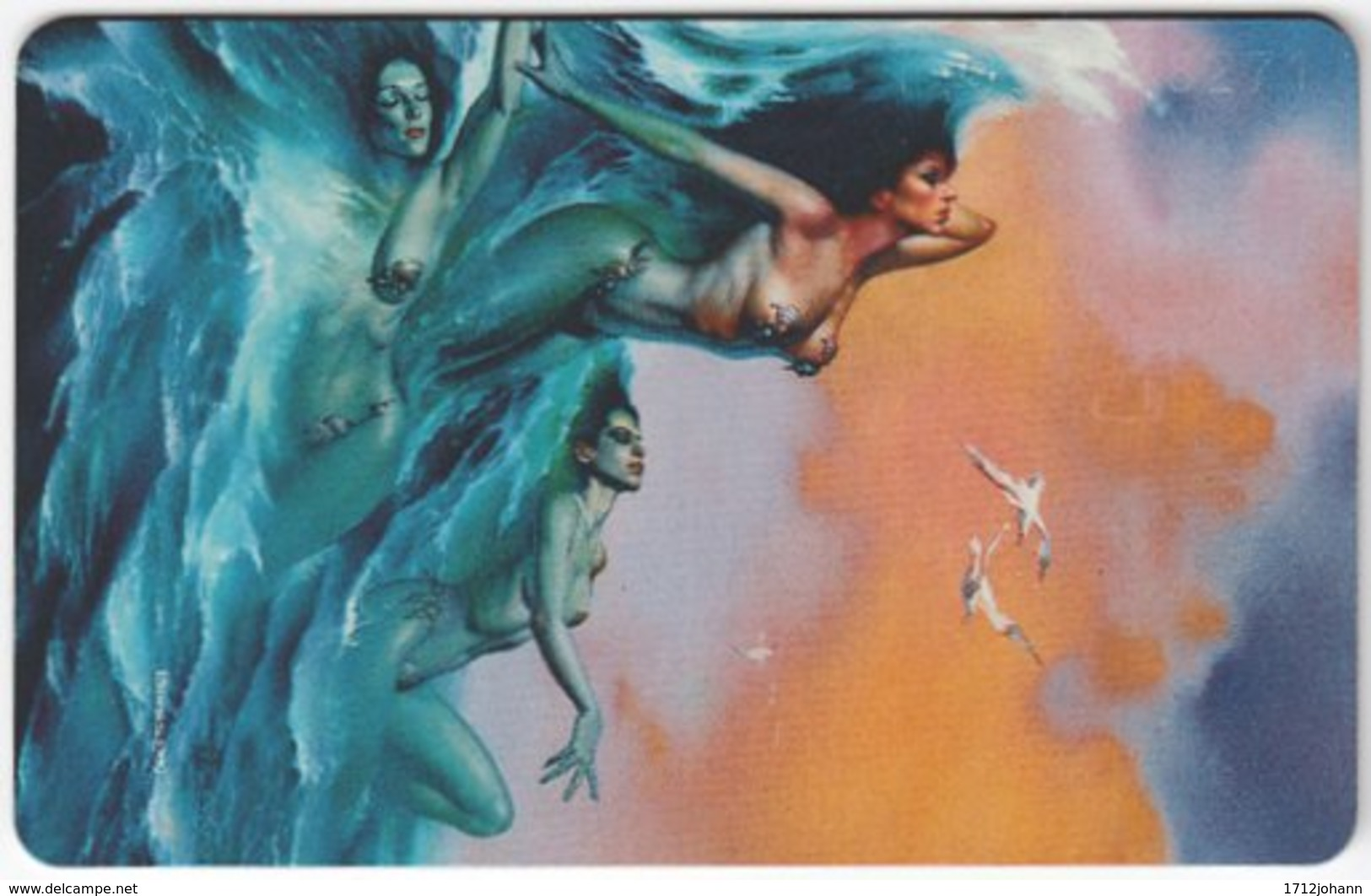 GERMANY K-Serie A-557 - 119 04.93 - Painting, Phantasy - MINT - Deutschland