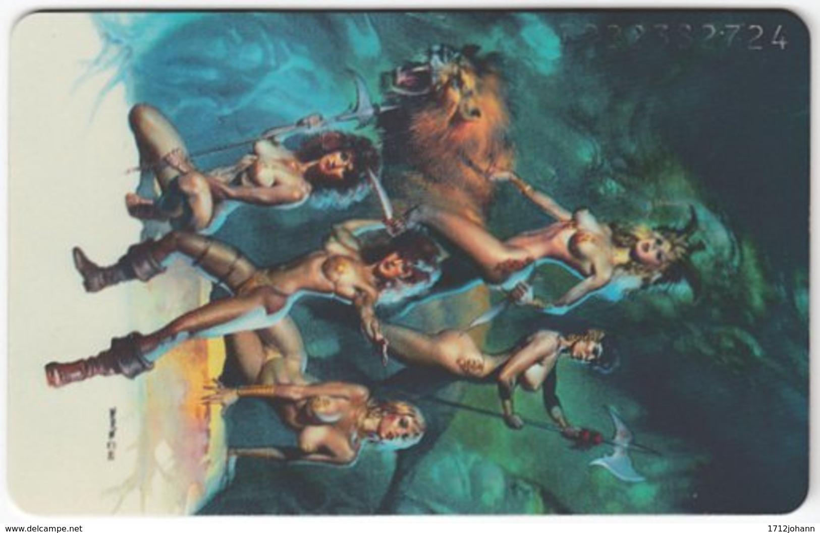 GERMANY K-Serie A-561 - 772 02.93 - Painting, Phantasy - MINT - Deutschland