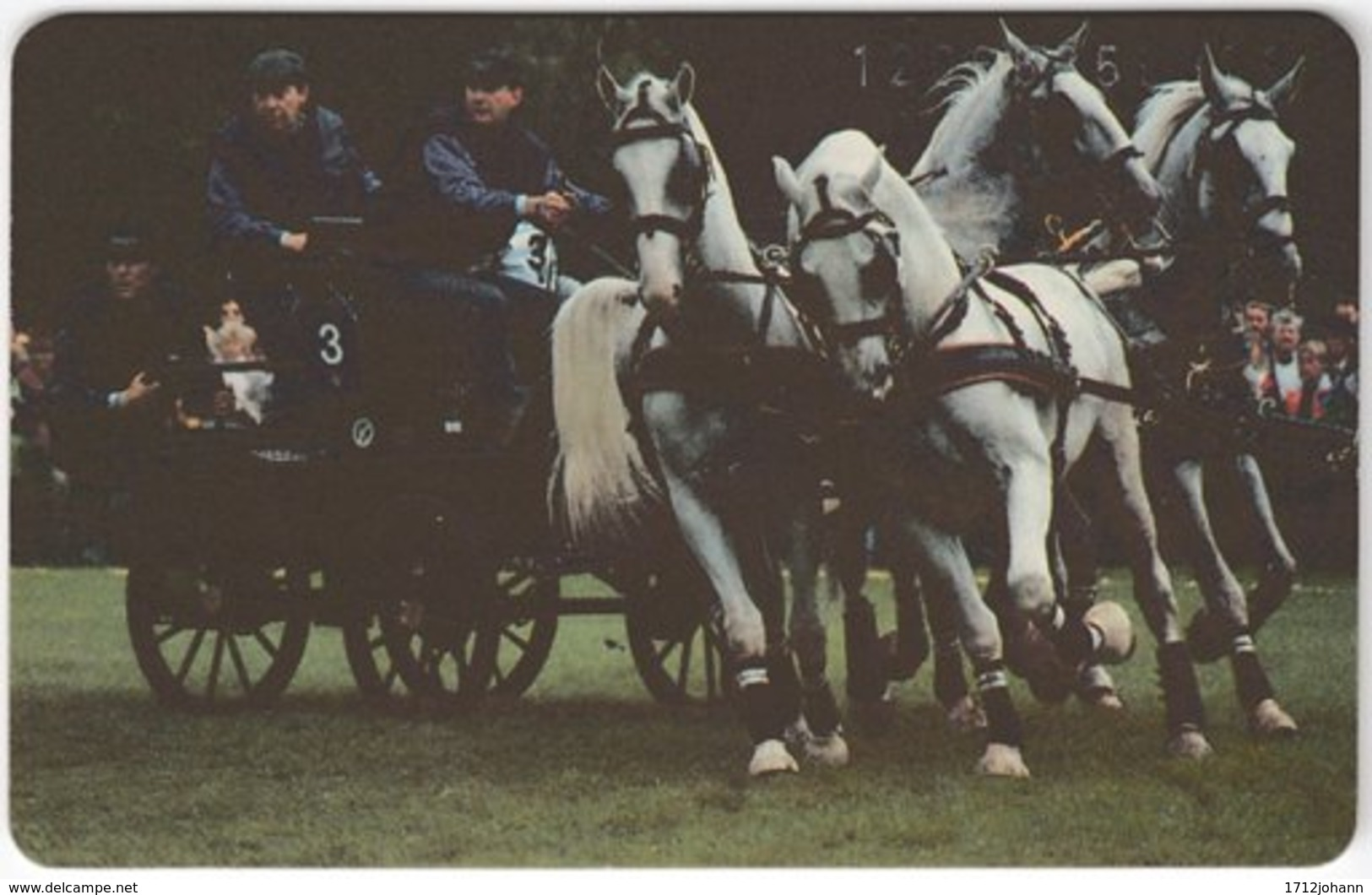 GERMANY K-Serie A-565 - 997 06.92 - Animal, Horse - MINT - Deutschland