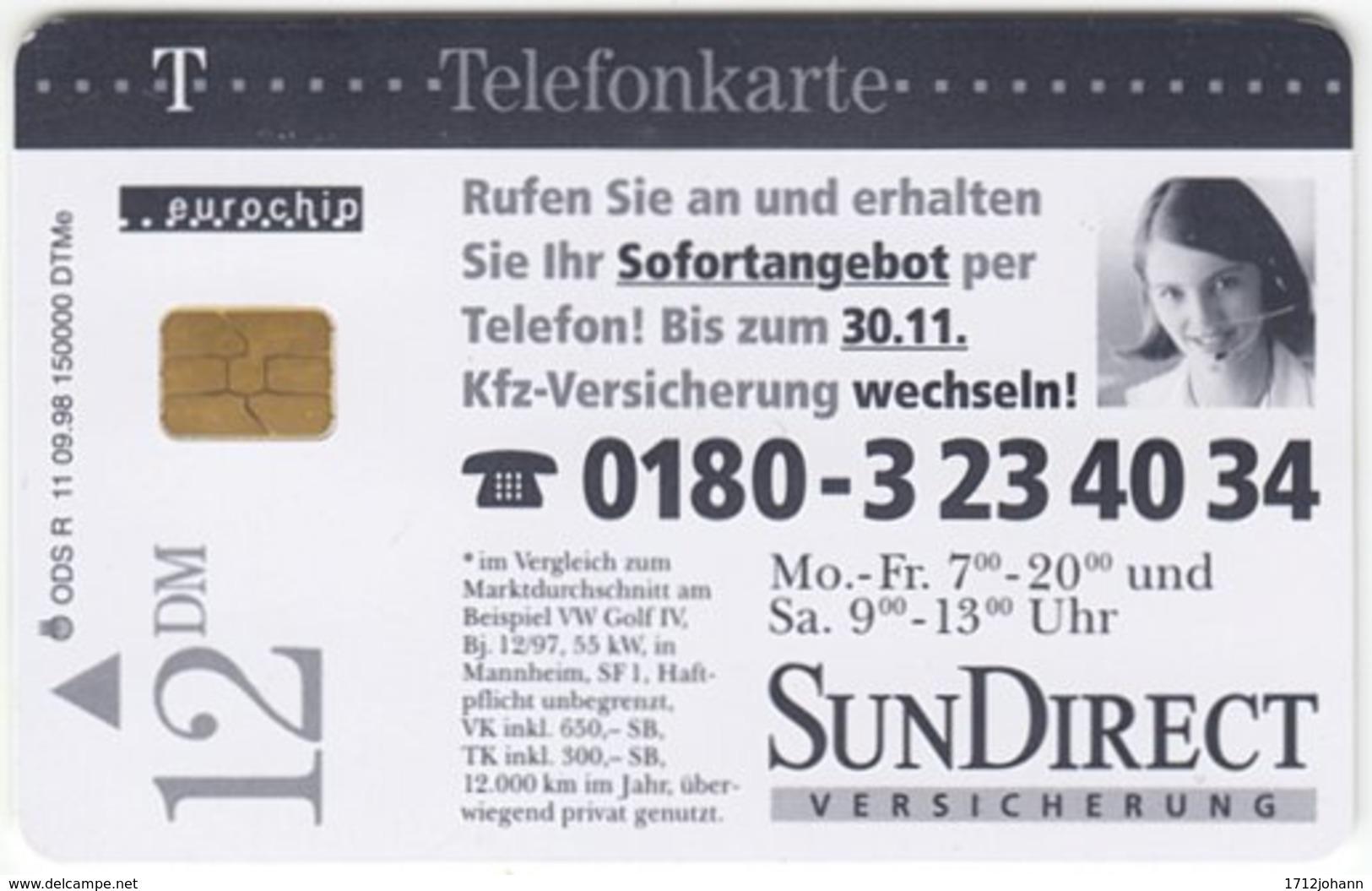 GERMANY R-Serie A-165 - 11 09.98 (2808) - Advertising, Magazine - Used - R-Series: Regionale Schalterserie