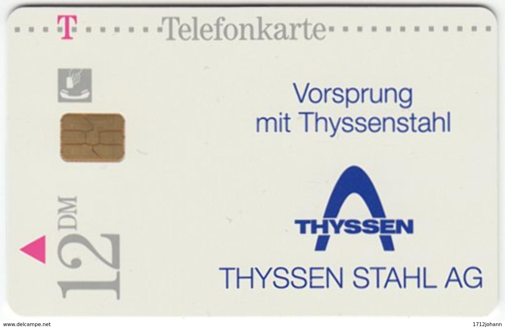 GERMANY R-Serie A-192 - 03 03.96 - Advertising, Steel Company - MINT - Deutschland