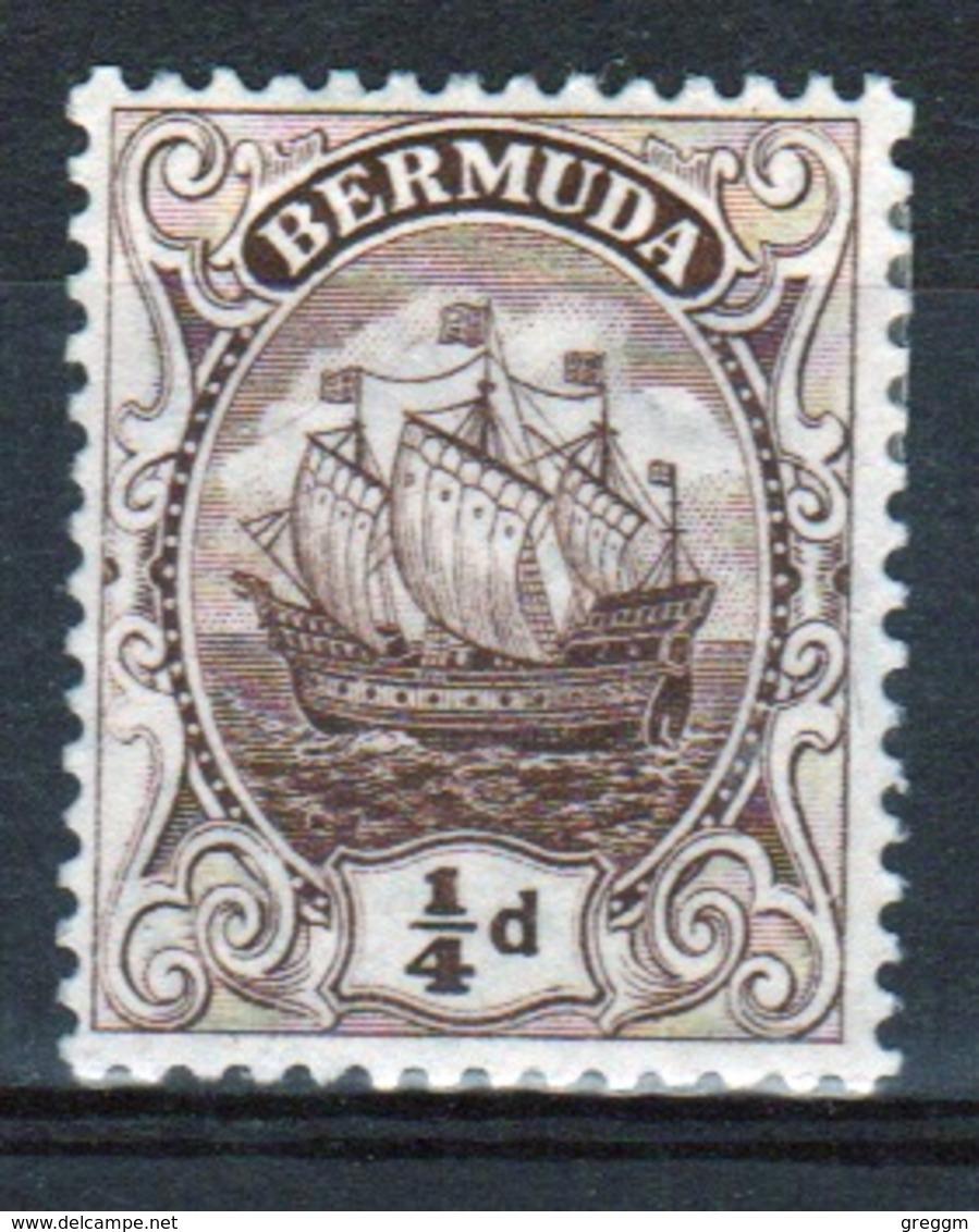 Bermuda ¼d Stamp From The 1910 Definitive Set. - Bermuda