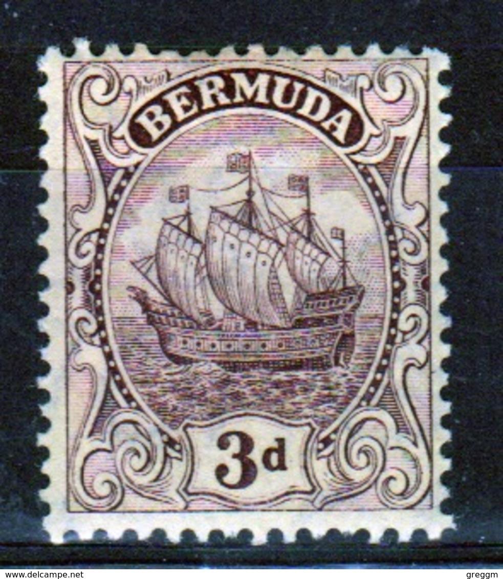 Bermuda 3d Stamp From The 1910 Definitive Set. - Bermuda