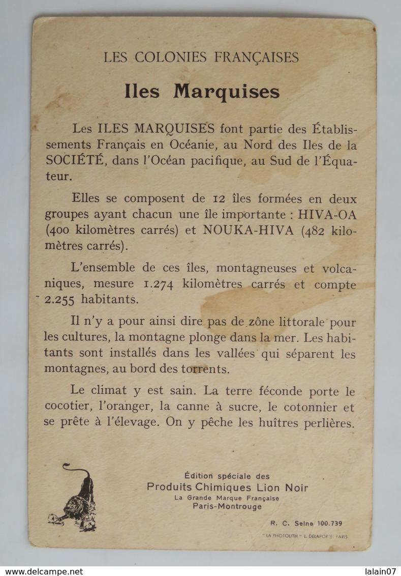 C.P.A. : Colonies Françaises, LES MARQUISES, édition Lion Noir - Polynésie Française