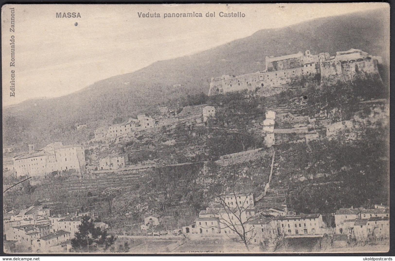 Italia  -  MASSA, Veduta Panoramica Del Castello - Massa