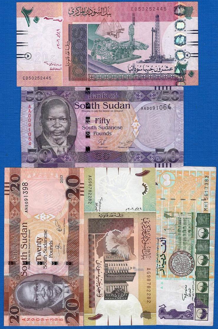 Soudan  10  Billets - Sudan
