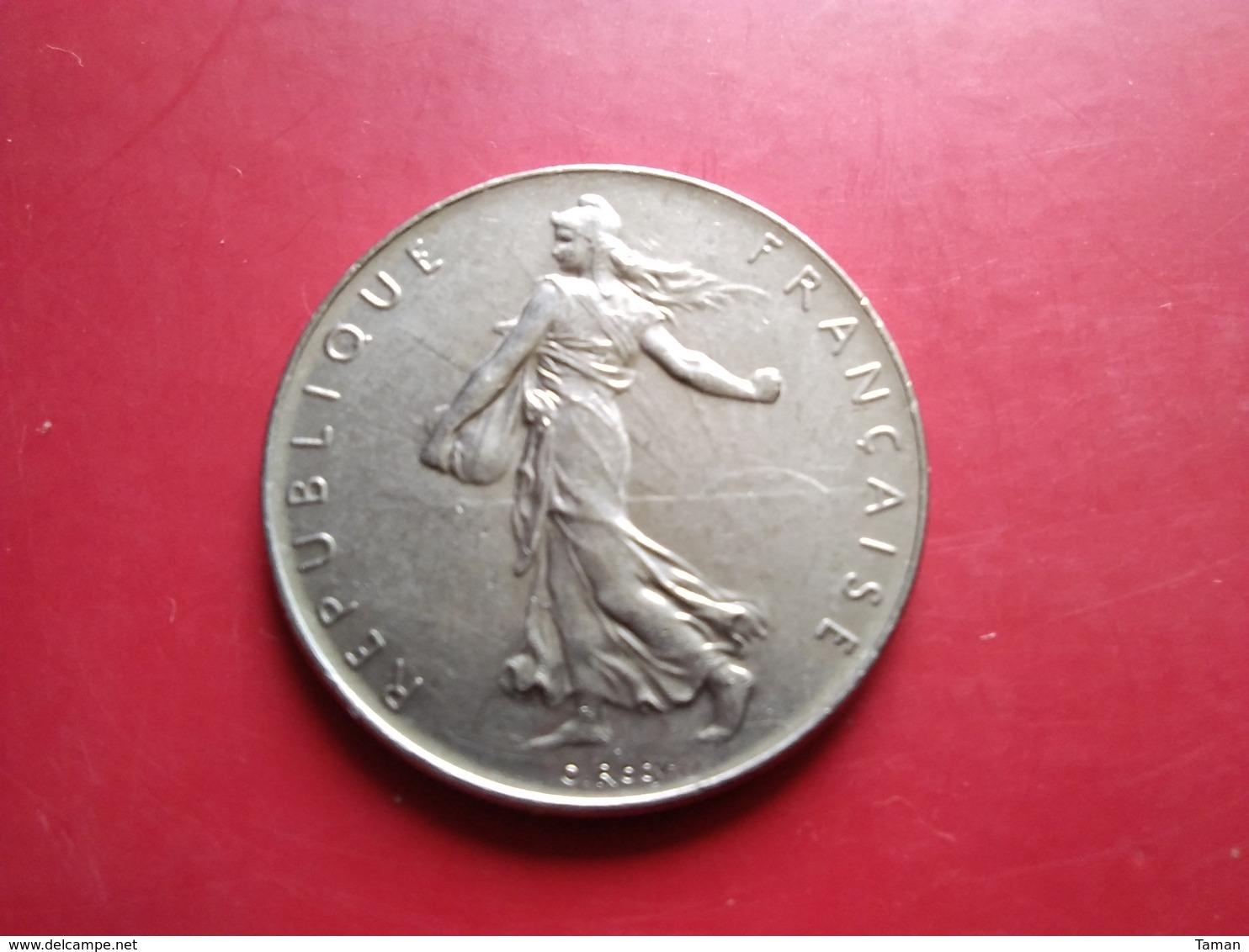 FRANCE   1  Franc   1975   -- SUP -- - Francia