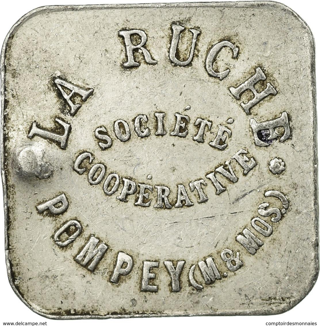 Monnaie, France, Société Coopérative La Ruche, Pompey, 2 Kilos, TTB - Monétaires / De Nécessité