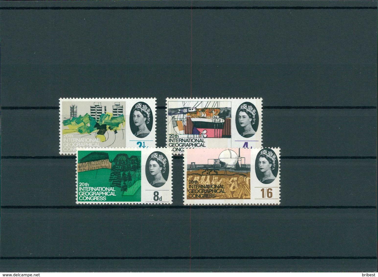 GROSSBRITANNIEN 1964 Nr 374-377y Postfrisch (201455) - Grossbritannien