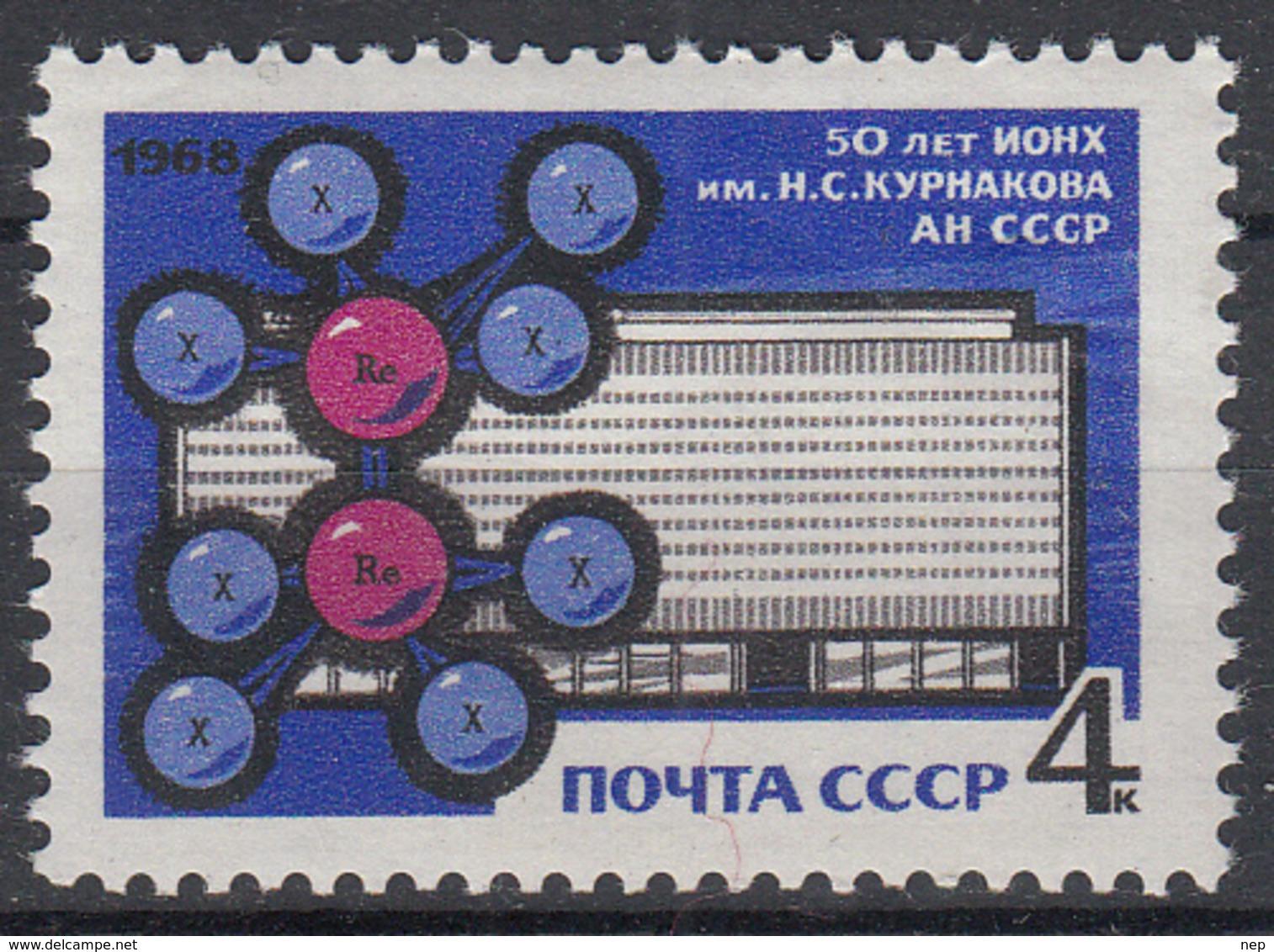 USSR - Michel - 1968 - Nr 3532 - MNH** - 1923-1991 USSR