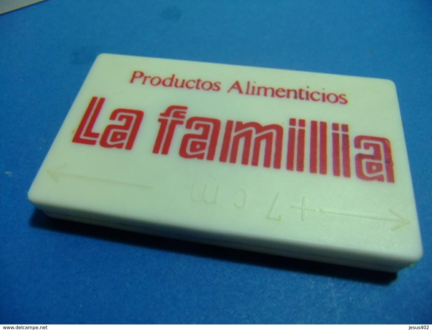 LA FAMILIA Pastas De Trigo Productos Alimenticios Metro Roto Antiguo - Otros