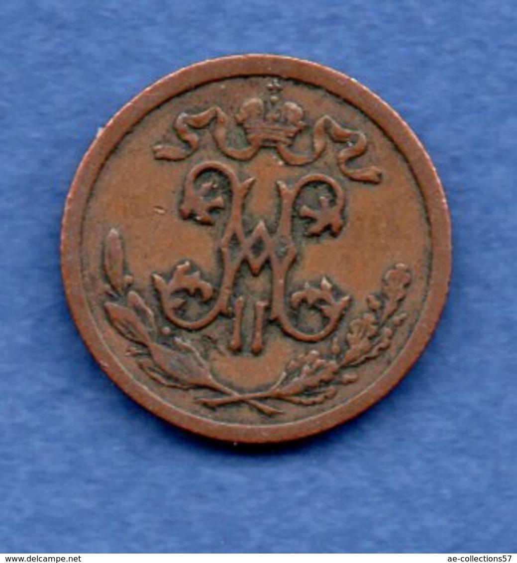 Russie -  1/2 Kopeks  1909  -  état  TB+ - Russia