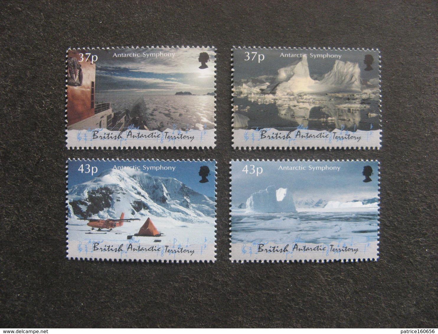 Territoire Antarctique Britannique: TB Série N° 325 Au N° 328, Neufs XX. - British Antarctic Territory  (BAT)