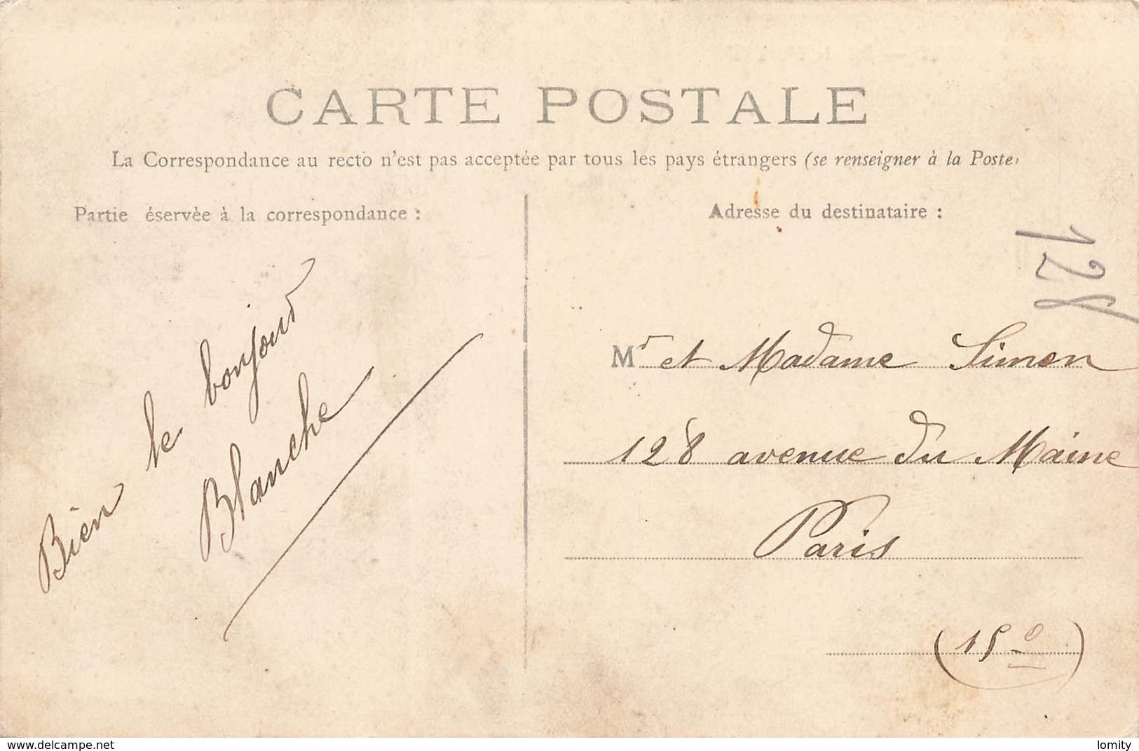 51 Esternay Scierie Petit Cachet 1906 Edit Autreau Cpa Animée - Esternay