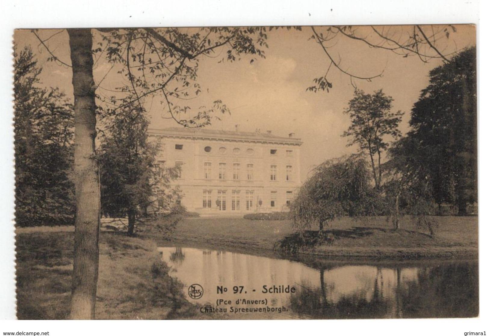N° 97. Schilde  (Pce D'Anvers) Château Spreeuwenborgh - Schilde