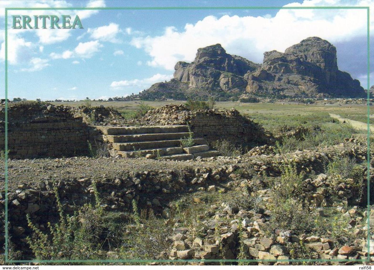 1 AK Eritrea * Ruinen Von Matara - Eine Der Historischen Stätten In Eritrea * - Eritrea