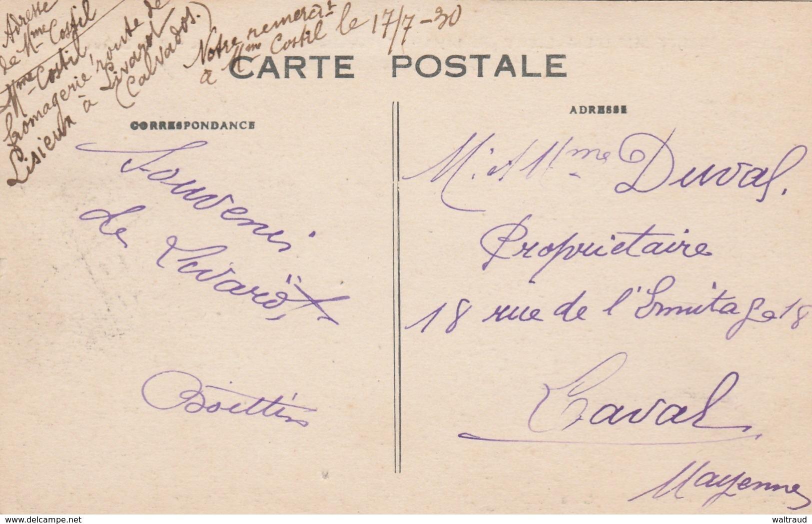 14--SAINT MICHEL DE LIVET--FROMAGERIE DE PETIT LISIEUX-MAURICE LEGENDRE---VOIR SCANNER - France
