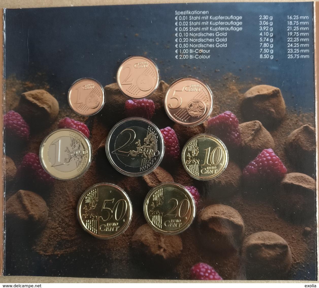 BU BELGIQUE 2019 CHOCOLAT WORLD MONEY FAIR BERLIN 500 EXEMPLAIRES TRES TRES RARE Lire Description Complète !!! - Belgium