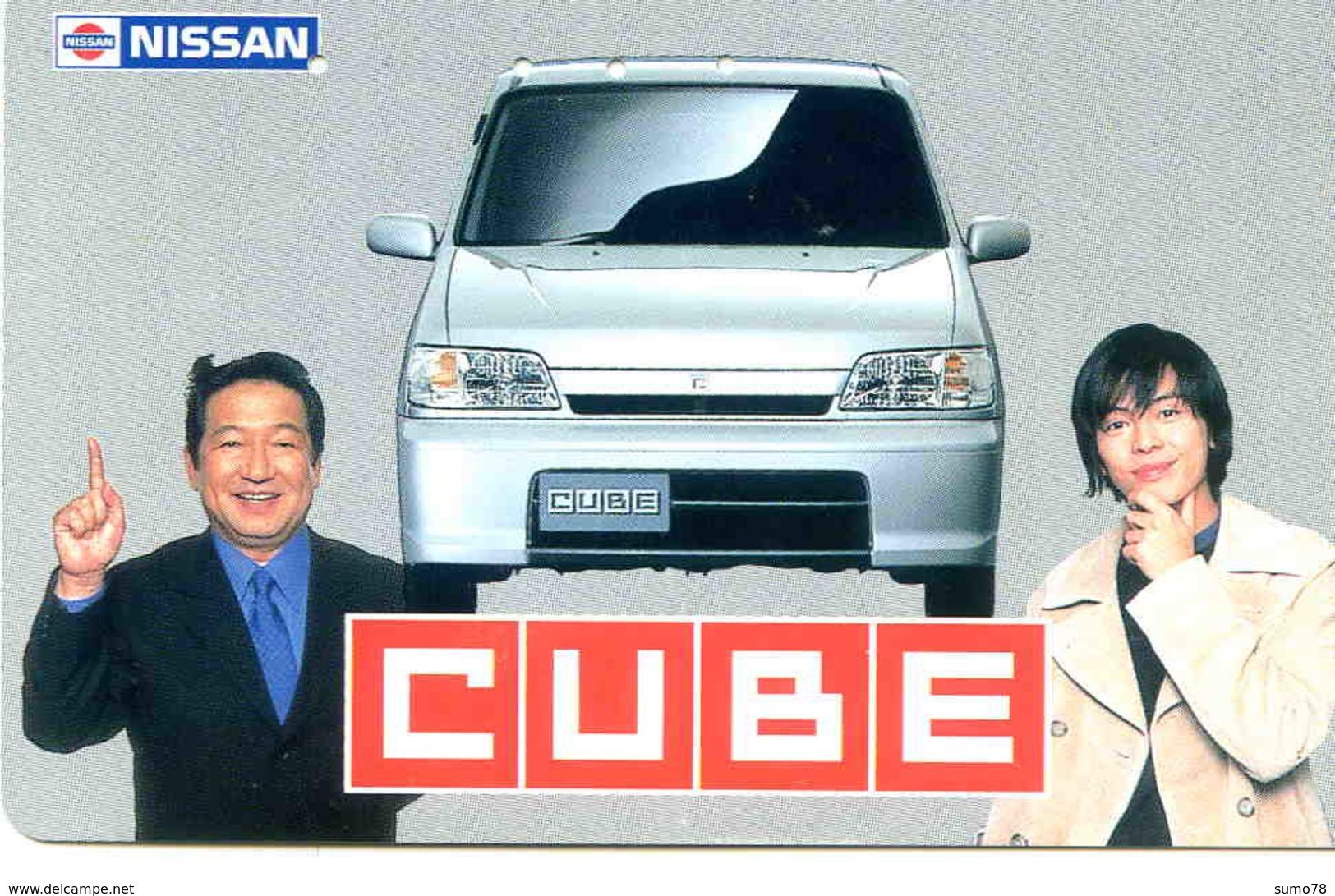 NISSAN - TELECARTE JAPON  - VOITURE - AUTOMOBILE - CAR - Cars