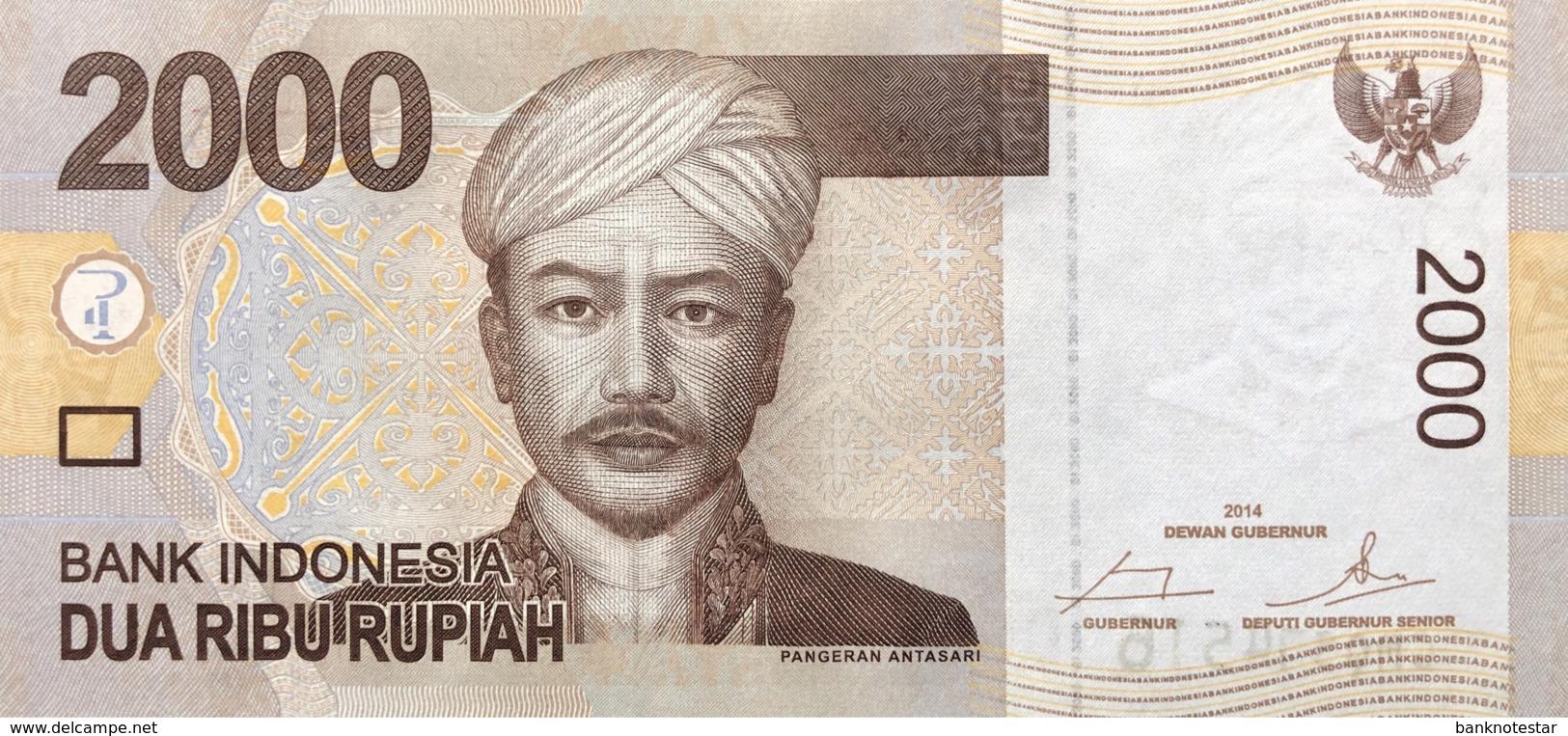 Indonesia 2.000 Rupiah, P-148f (2014) - UNC - Indonesien