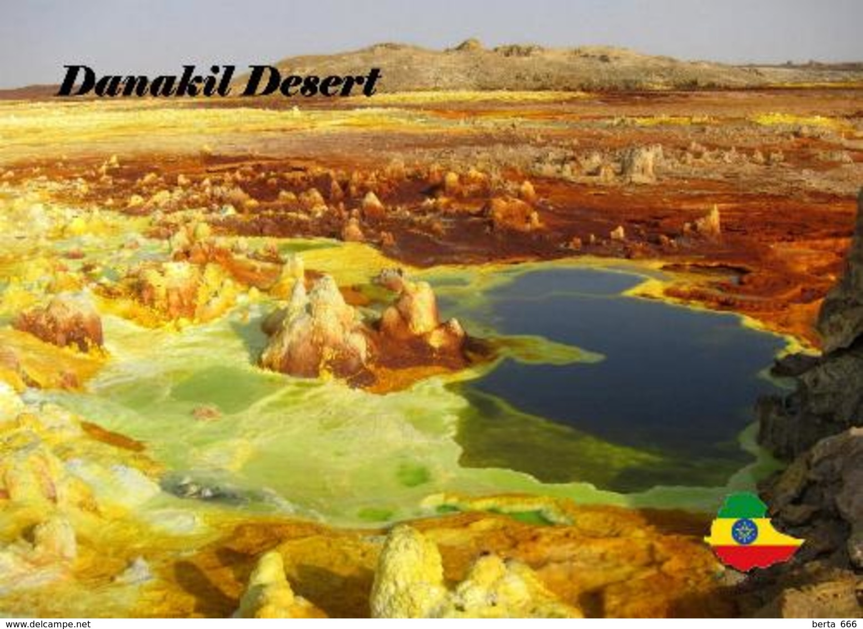 AK Äthiopien Ethiopia Danakil Desert New Postcard - Ethiopia