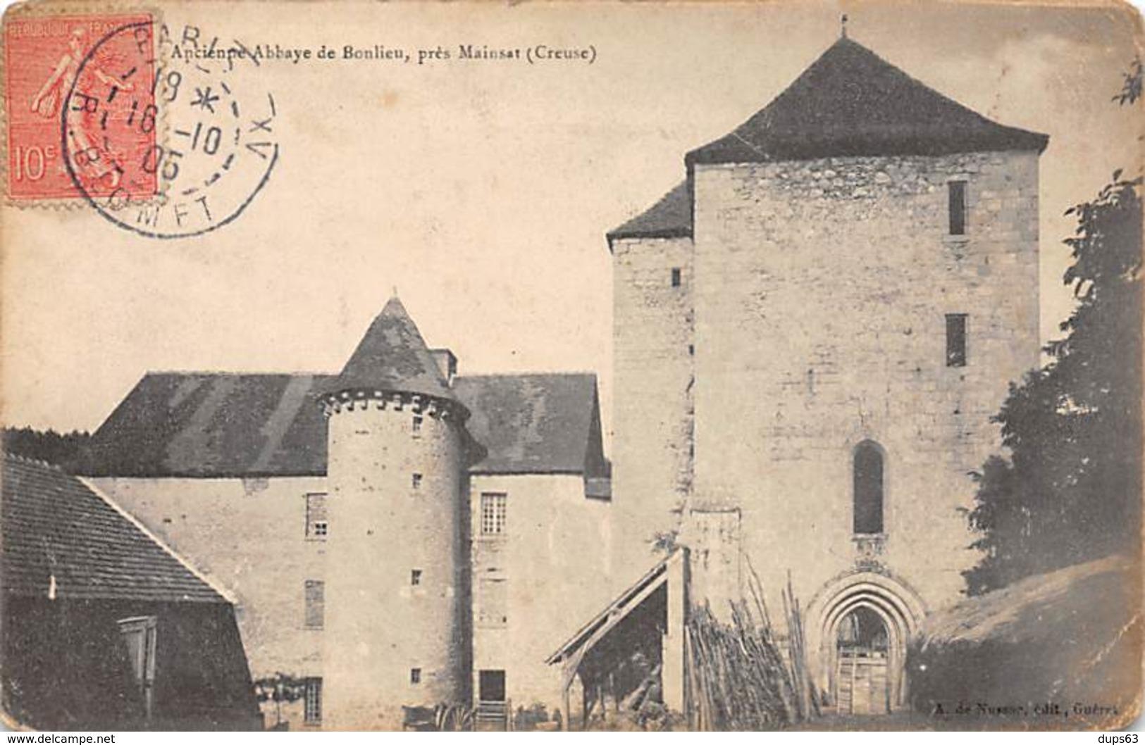Ancienne Abbaye De BONLIEU Près Mainsat - Très Bon état - Autres Communes