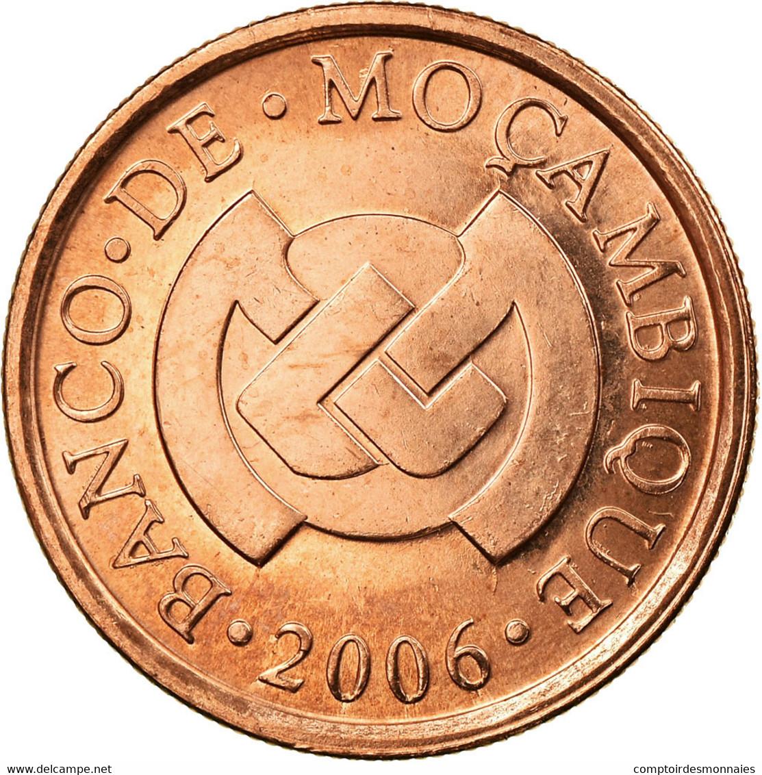 Monnaie, Mozambique, 5 Centavos, 2006, TTB, Copper Plated Steel, KM:133 - Mozambique