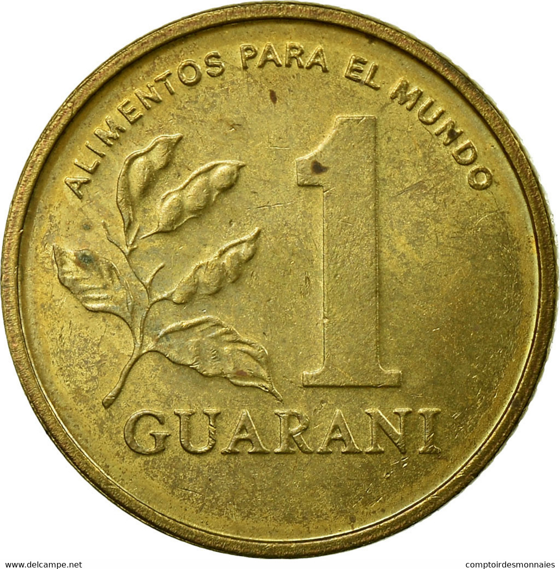 Monnaie, Paraguay, Guarani, 1993, TTB, Brass Plated Steel, KM:192 - Paraguay