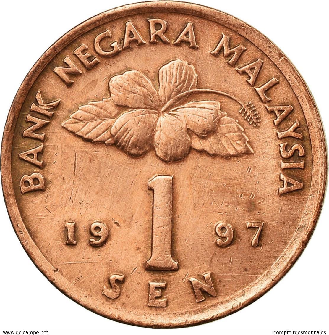 Monnaie, Malaysie, Sen, 1997, TTB, Bronze Clad Steel, KM:49 - Malaysie
