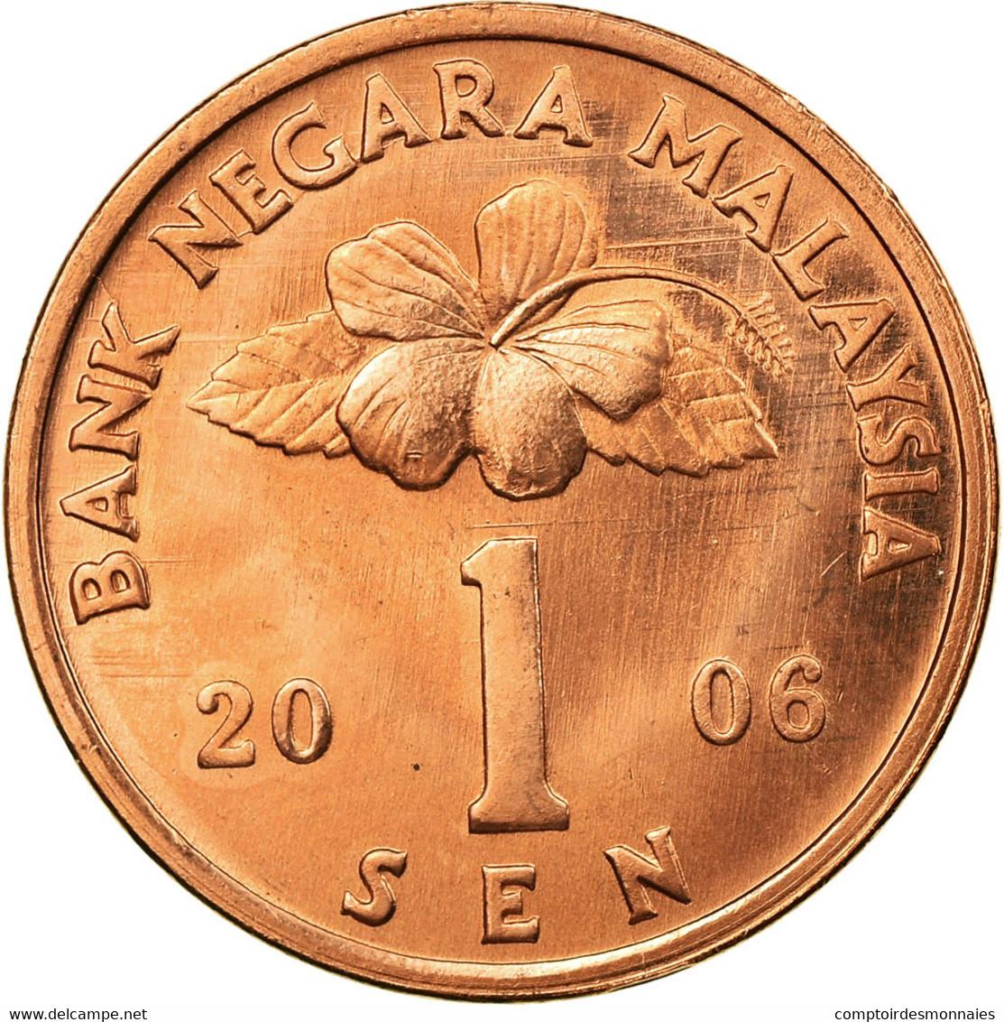 Monnaie, Malaysie, Sen, 2006, SPL, Bronze Clad Steel, KM:49 - Malaysie