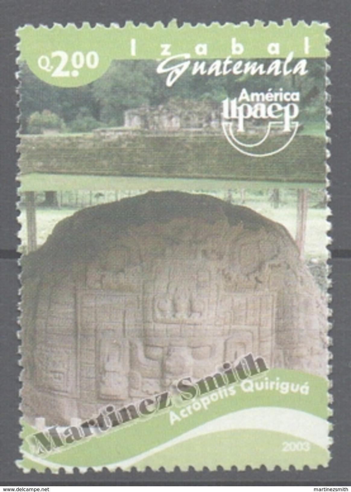 Guatemala 2004 Yvert 507, America UPAEP. Acropolis Quirigua - MNH - Guatemala