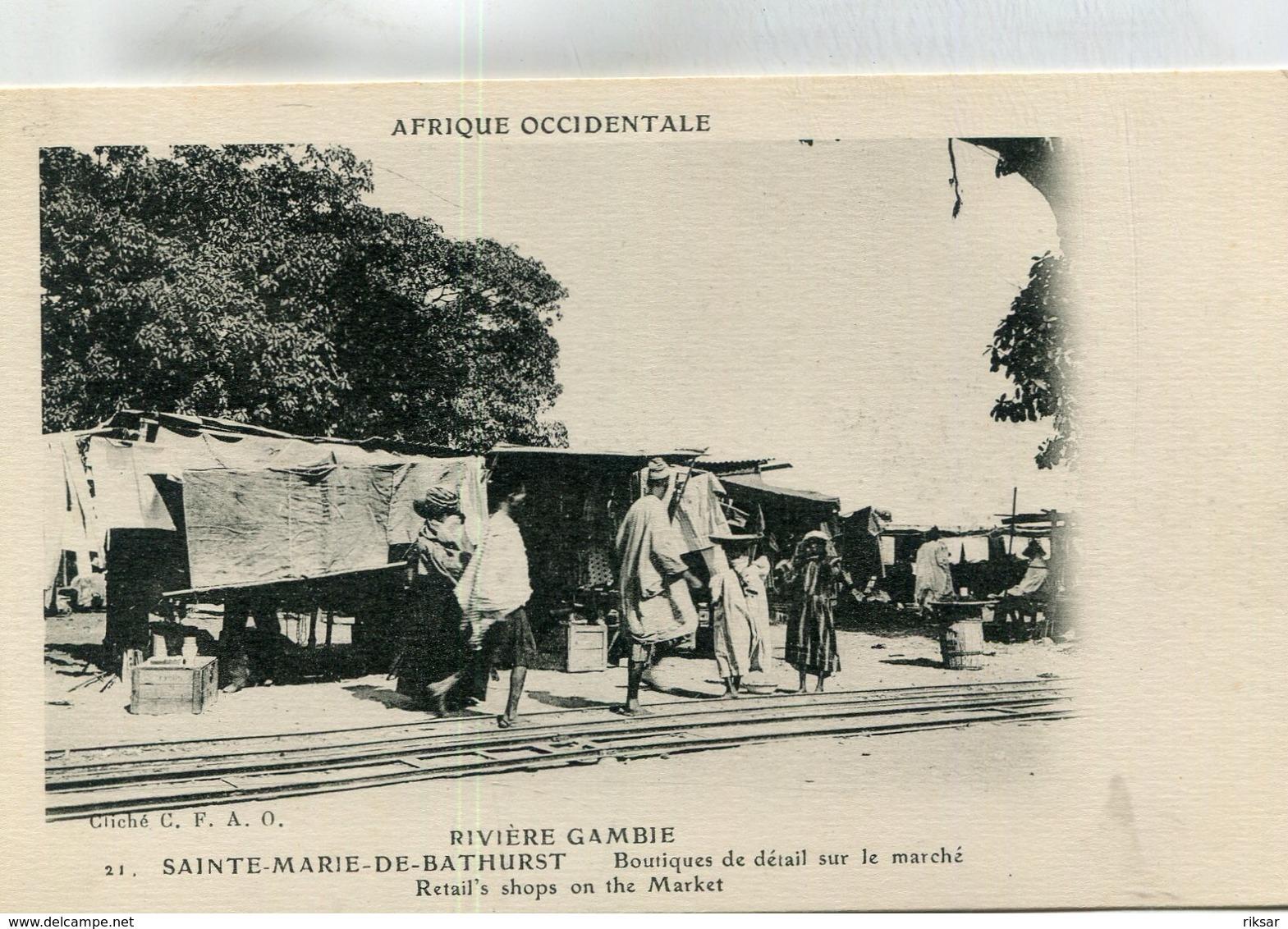 GAMBIE(SAINTE MARIE DE BARTHURST) BOUTIQUE - Gambie