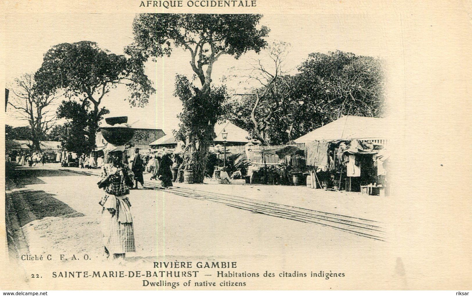 GAMBIE(SAINTE MARIE DE BARTHURST) - Gambie
