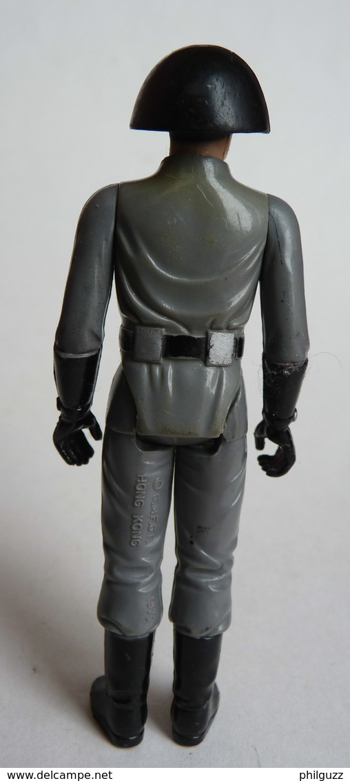 FIGURINE FIRST RELEASE  STAR WARS 1978 DEATH SQUAD COMMANDER HONG KONG (3) - First Release (1977-1985)