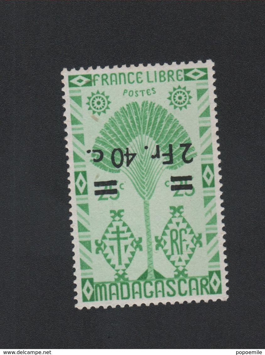 Faux Madagascar N° 294a Surcharge Renservée Gomme Sans Charnière - Madagascar (1889-1960)