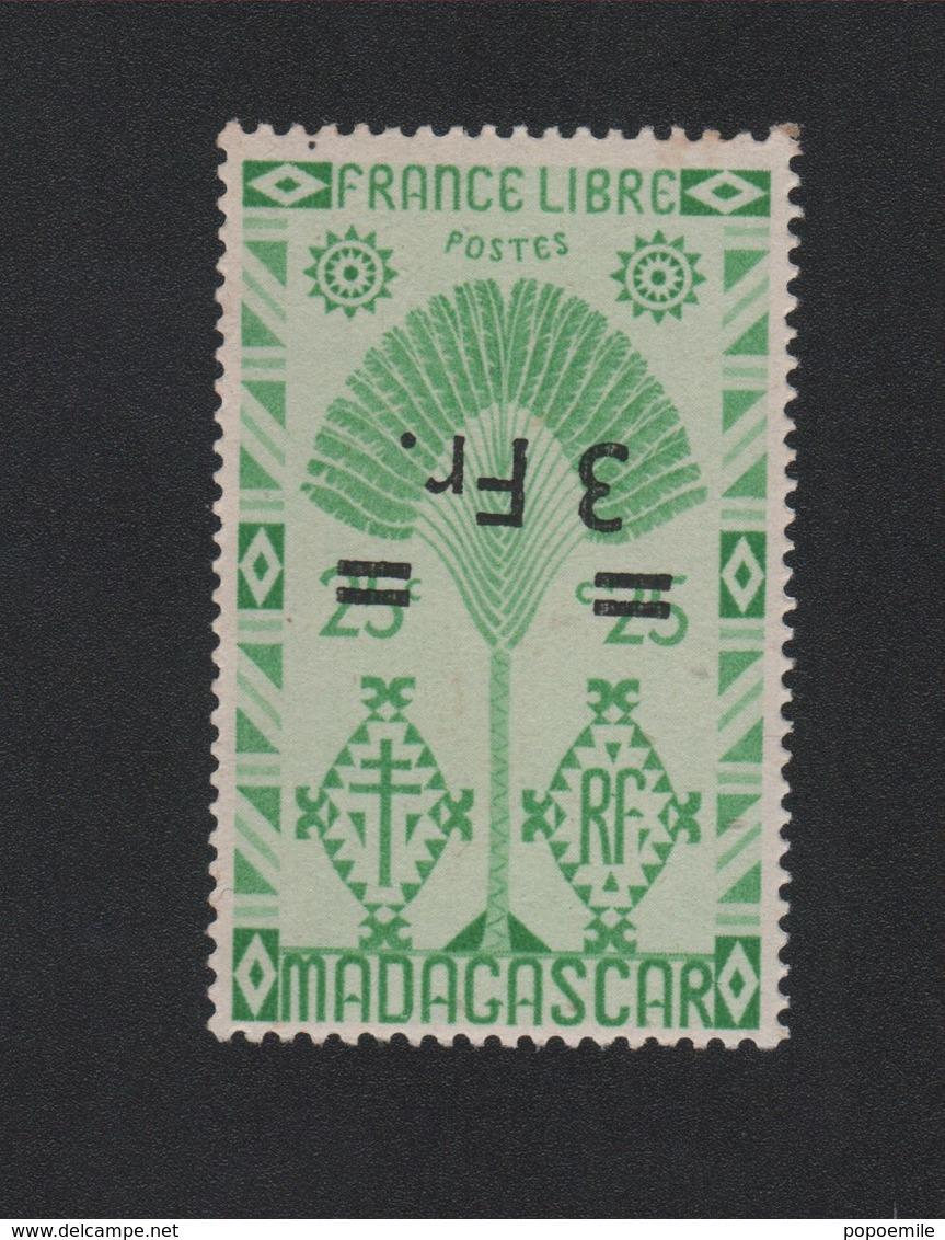 Faux Madagascar N° 295a Surcharge Renservée Gomme Sans Charnière - Madagascar (1889-1960)