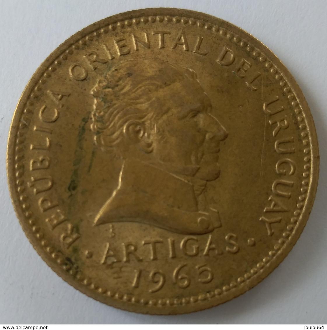 URUGUAY - 10 Pesos 1965 - Cu-Alu - Superbe - - Uruguay