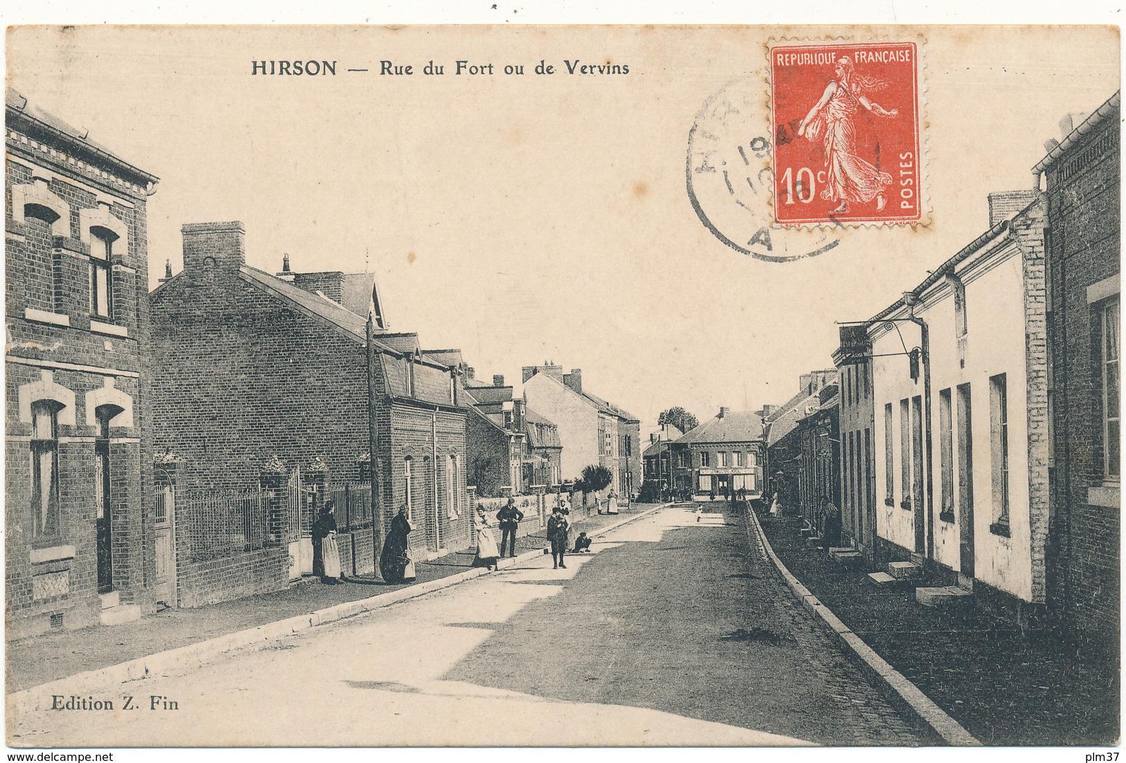 D02 - HIRSON - Rue Du Fort - Hirson