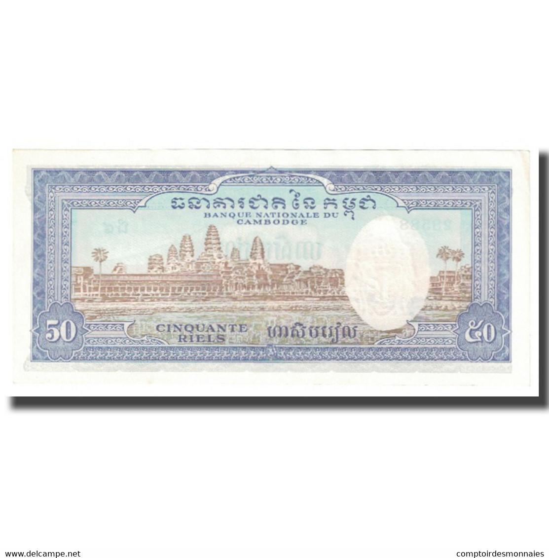 Billet, Cambodge, 50 Riels, KM:7c, NEUF - Cambodia