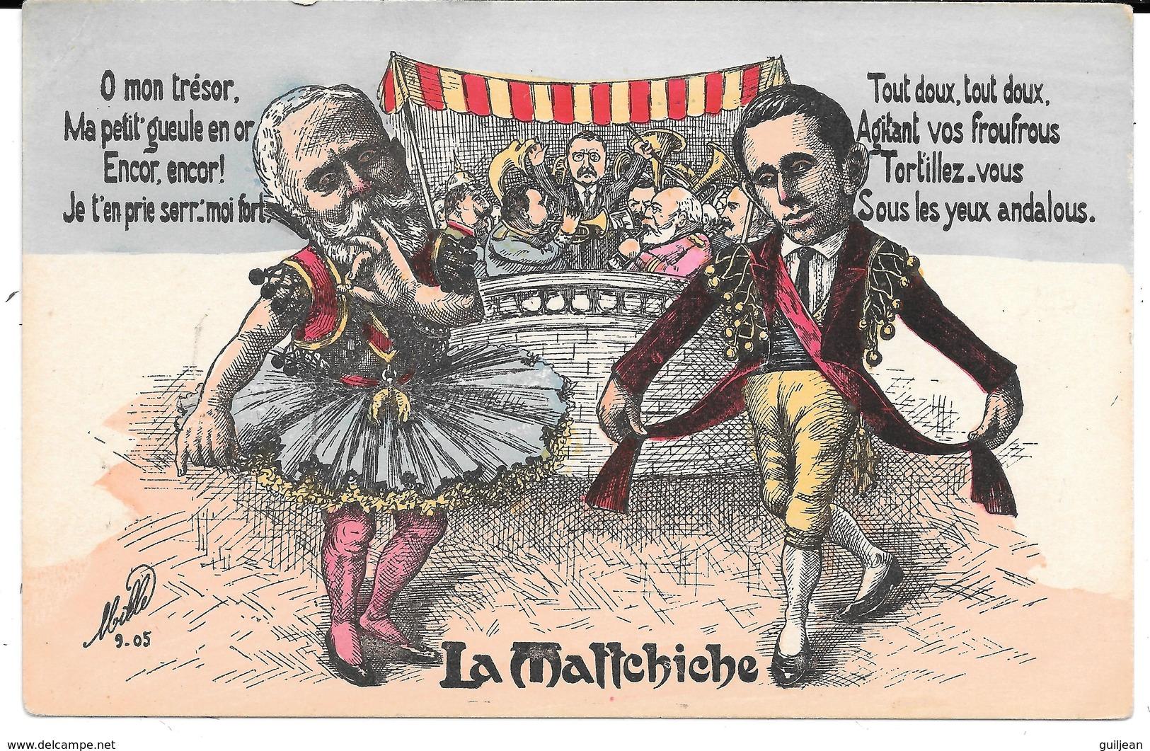 Satirique Par MILLE 9-05 - LA MATTCHICHE - Satira
