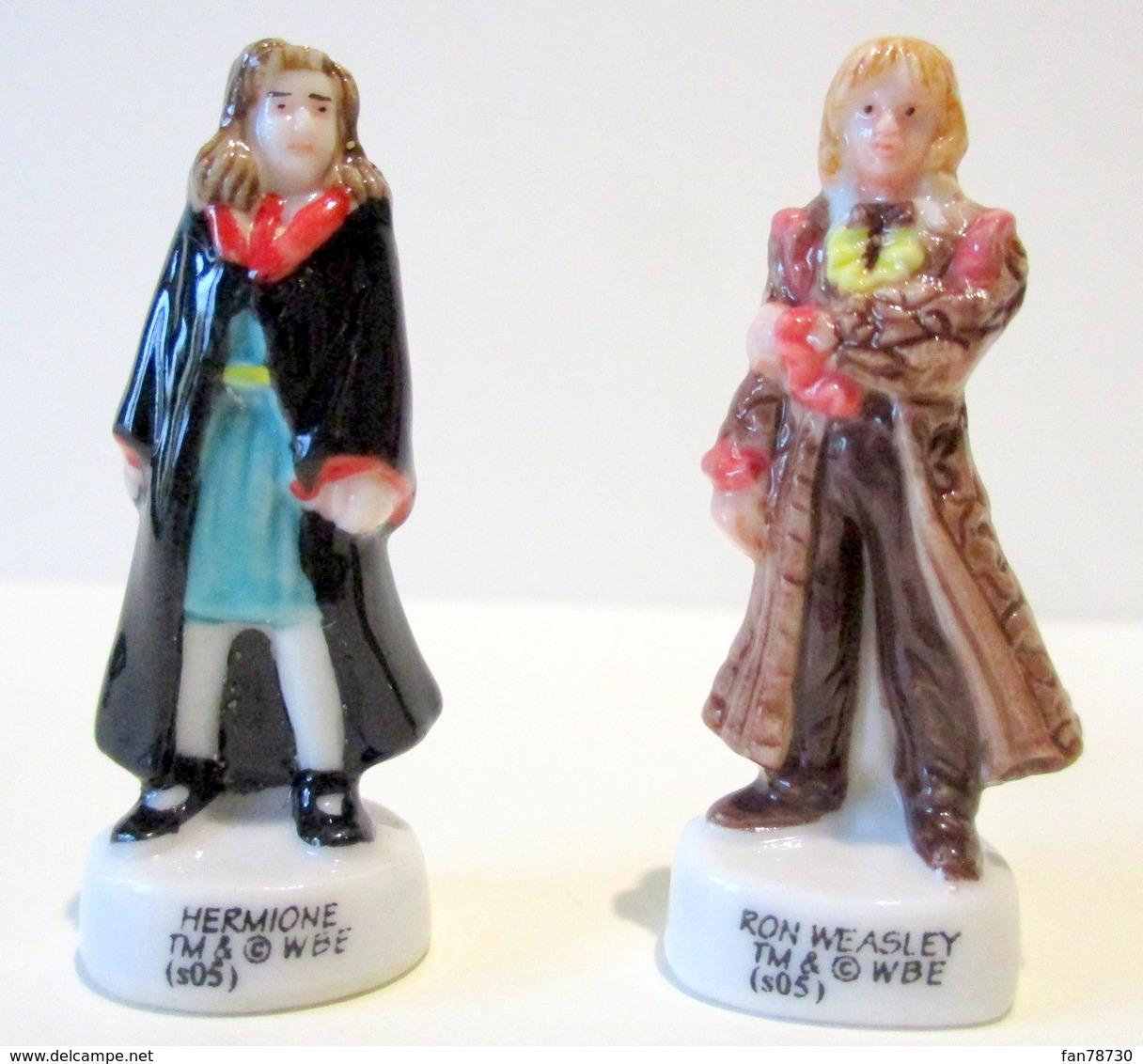 Fèves Brillantes -  Hermione Et Ron Weasley Dans Harry Potter (s05) - Personnages