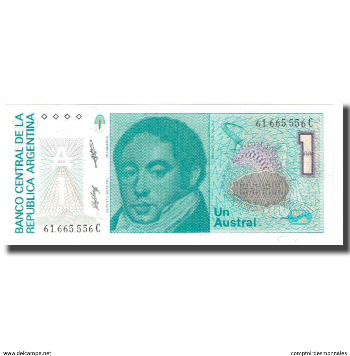 Billet, Argentine, 1 Austral, KM:323b, NEUF - Argentine
