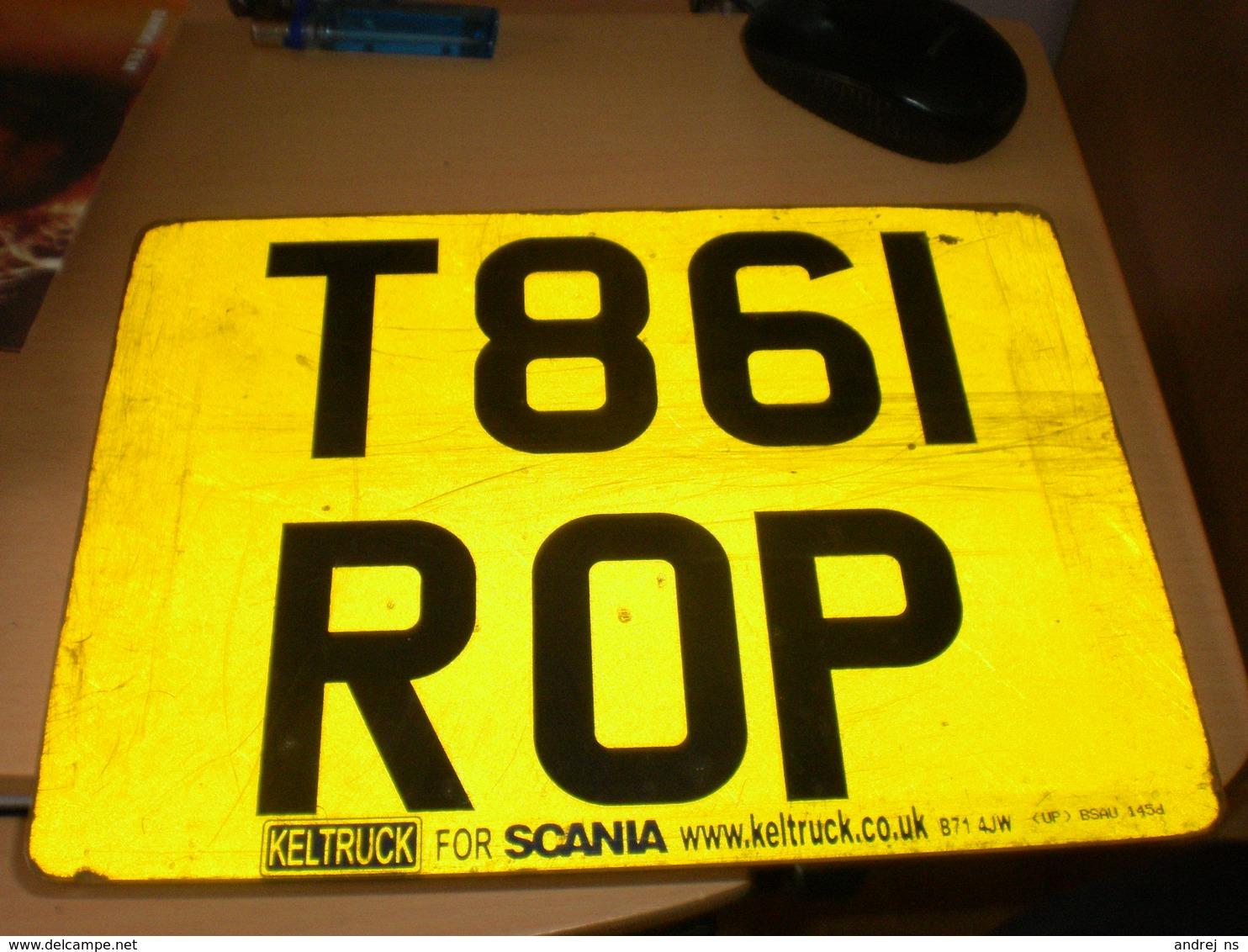 Number Plates Keltruck For Scania - Number Plates