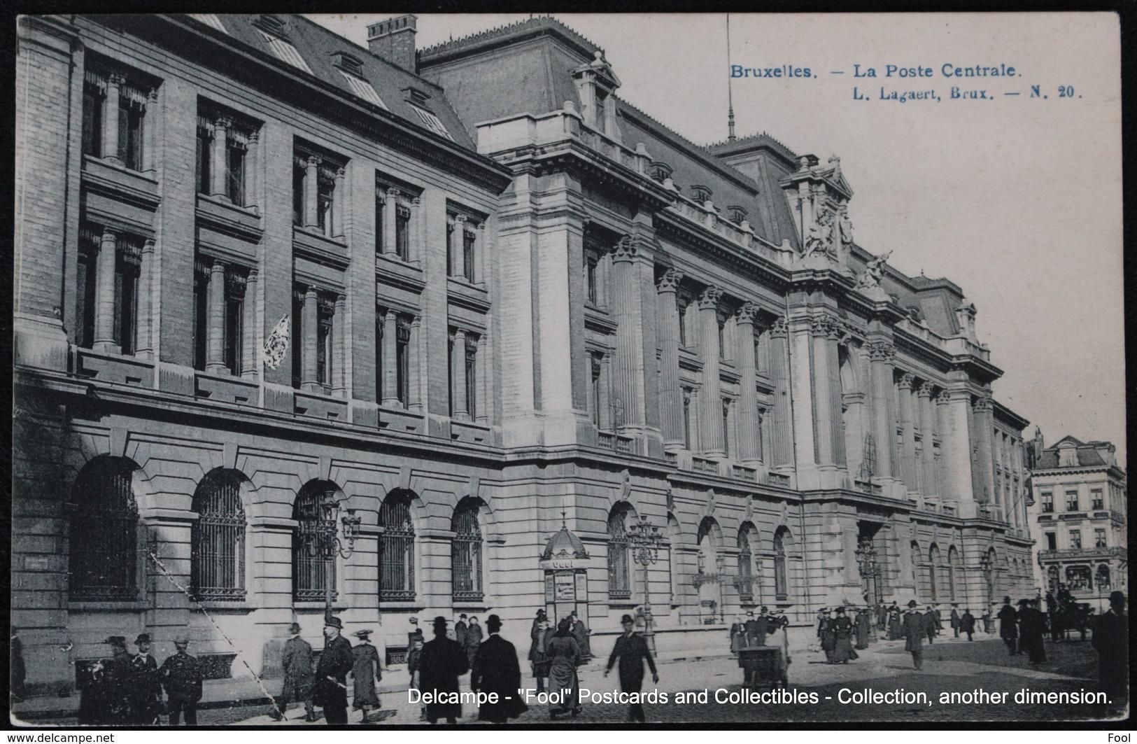 Bruxelles Brussel Brussels La Poste Centrale Post - Poste & Facteurs