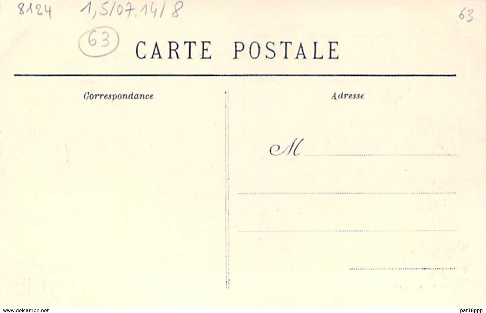 63 - BOURG LASTIC : Gorges Au Chavanon - CPA - Puy De Dôme - Altri Comuni