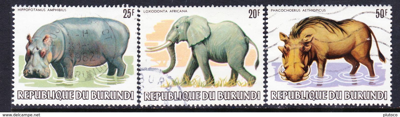 BURUNDI, USED STAMP, OBLITERÉ, SELLO USADO. - Burundi