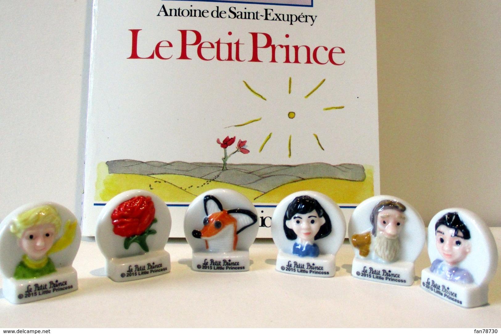 Fèves Brillantes, Série Le Petit Prince, 2015 Little Princess (sans Boîte) - Personnages