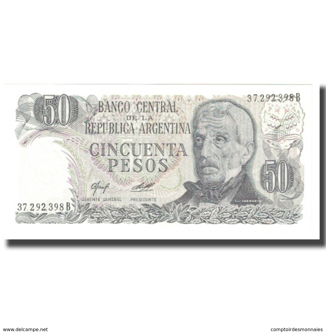 Billet, Argentine, 50 Pesos, KM:296, NEUF - Argentine