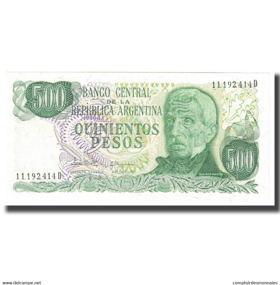 Billet, Argentine, 500 Pesos, KM:303a, NEUF - Argentine