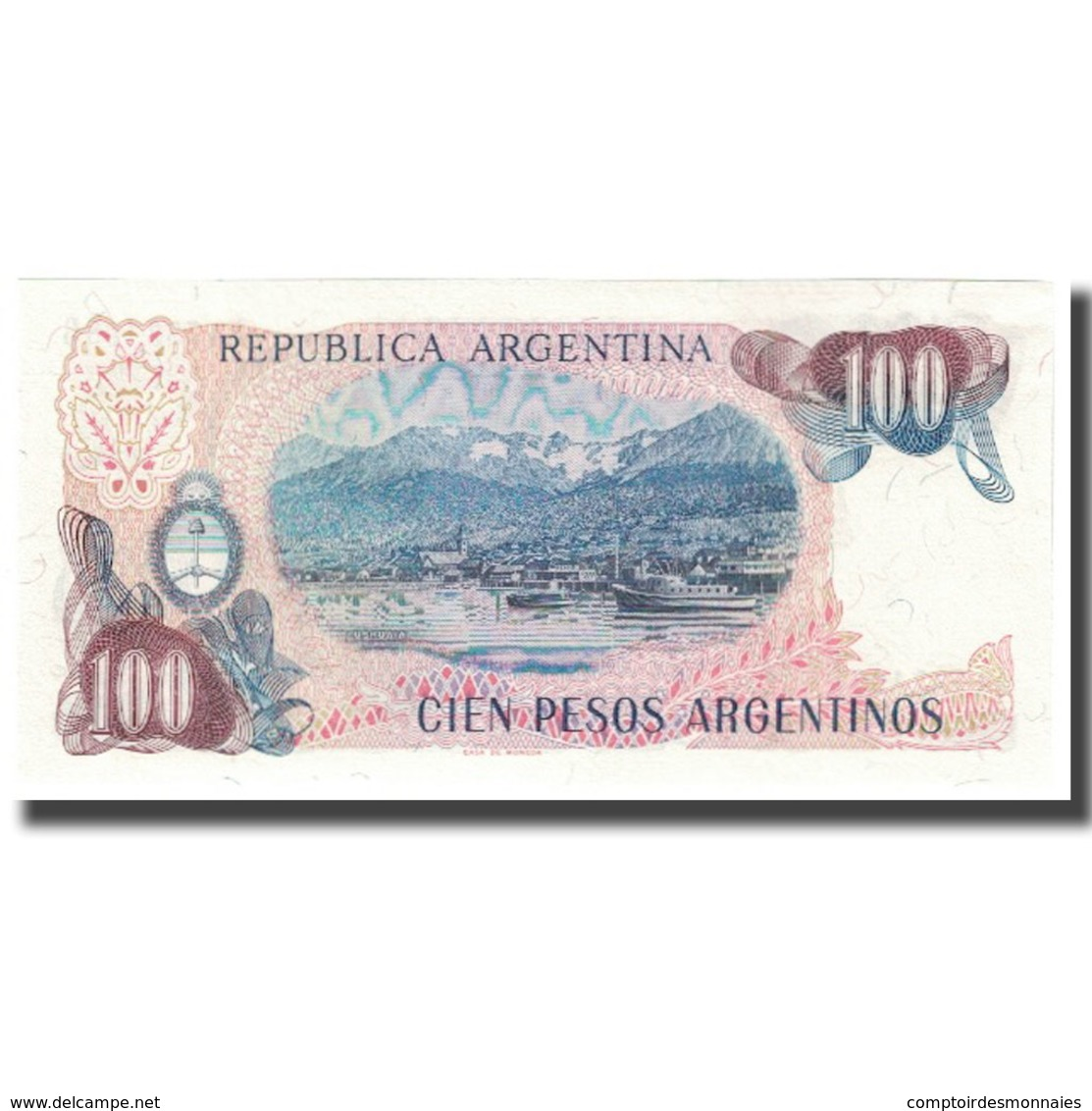 Billet, Argentine, 100 Pesos Argentinos, KM:315a, NEUF - Argentine